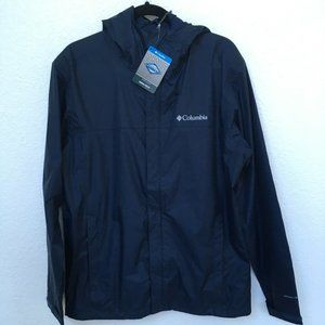 Columbia Watertight II Rain Jacket Navy NWT Medium